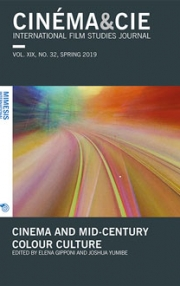 Cinéma&Cie 32: Cinema and mid-century colour culture