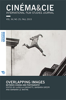 Cinéma&Cie: Overlapping Images. Between Cinema and Photography