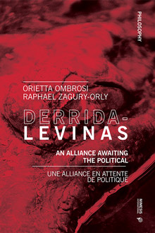 Derrida-Levinas: An Alliance Awaiting the Political Couverture du livre