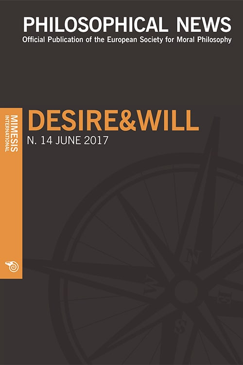 Philosophical News 14 – Desire & Will – June 2017