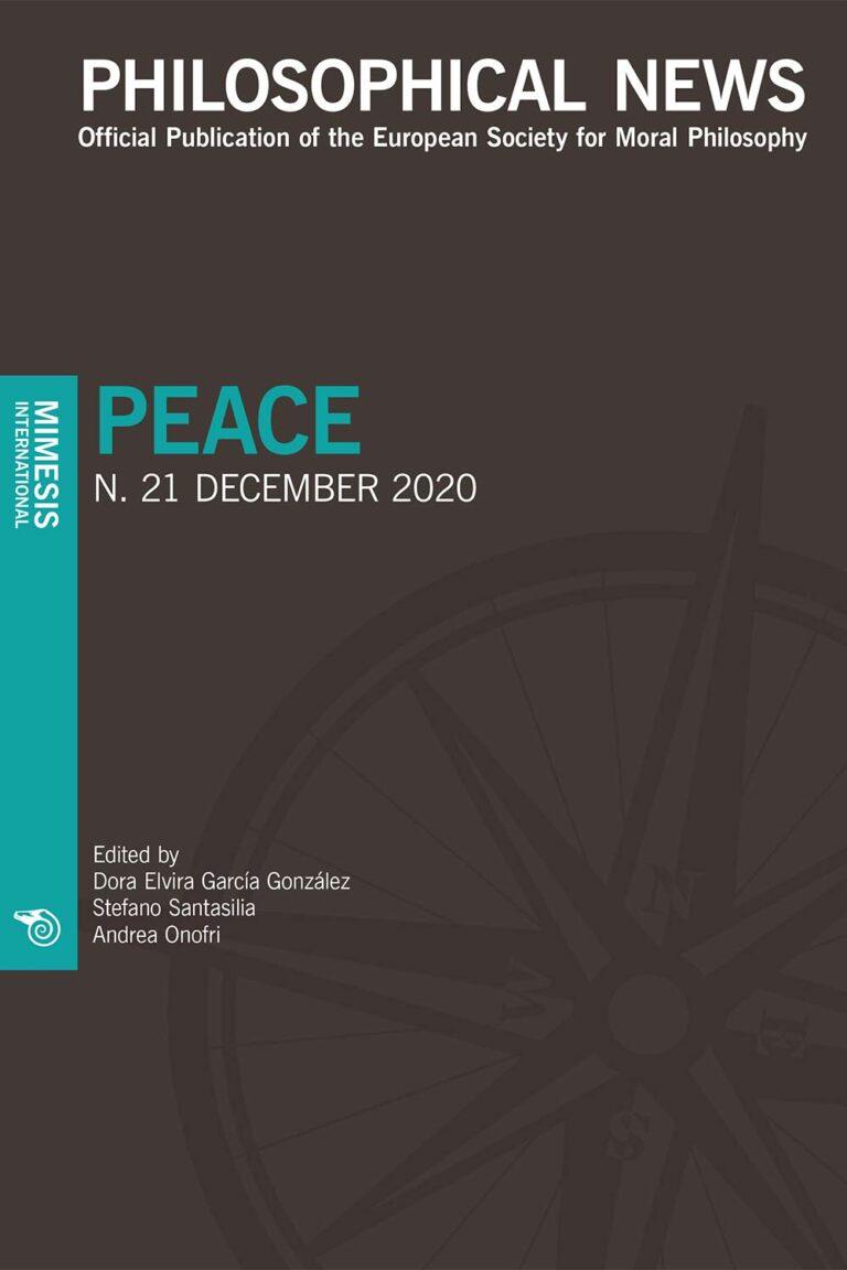 Philosophical News Philosophical News 21 – Peace