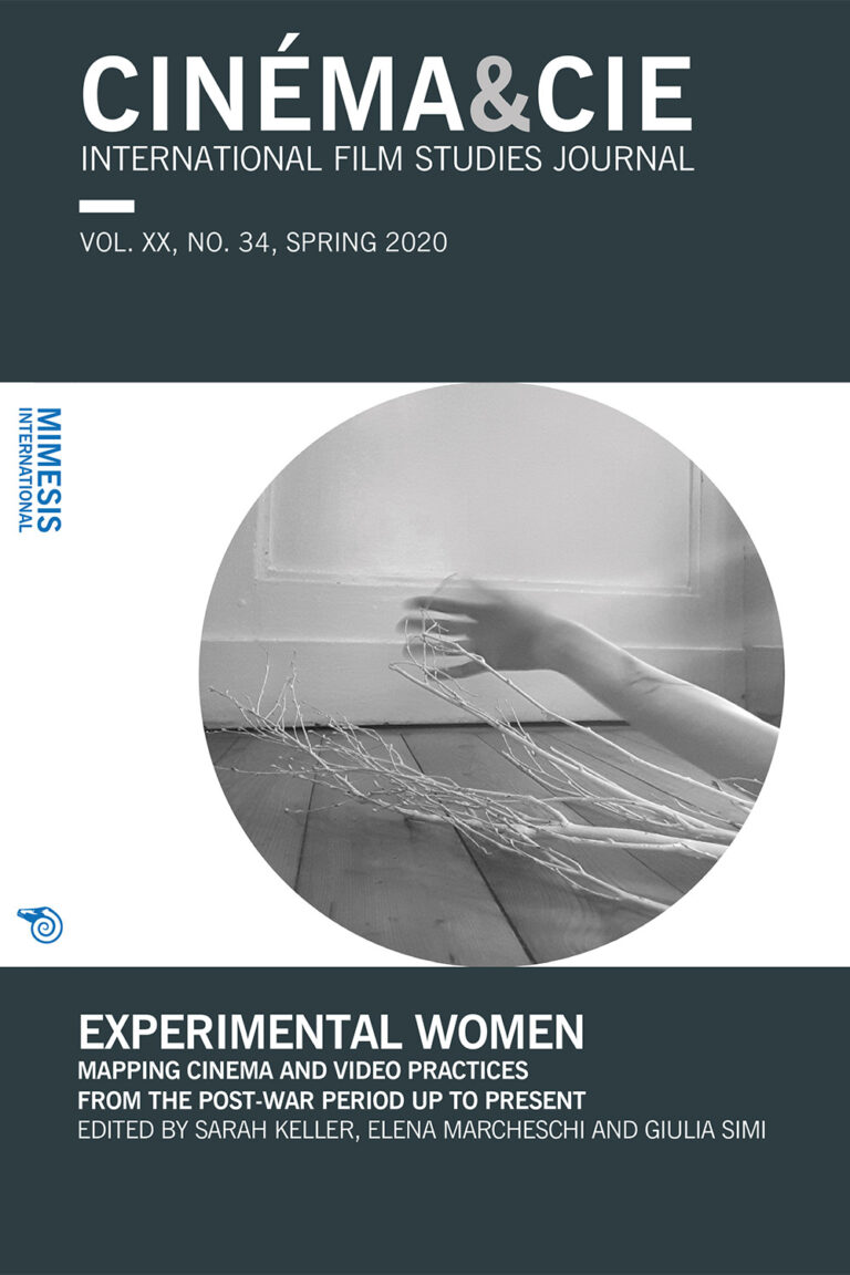 Cinéma&Cie 34: Experimental Women. Mapping Cinema and Video Practices From the Post-war Period Up to Presen
