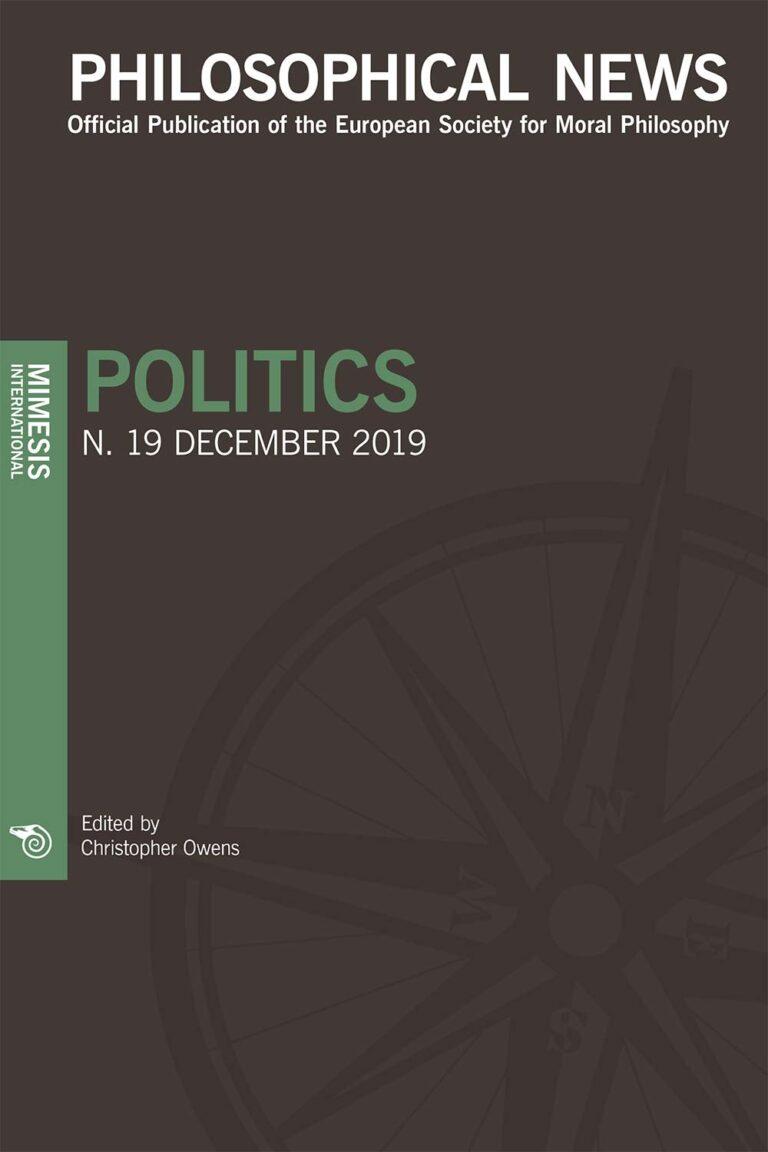 Philosophical News Philosophical News 19 – Politics